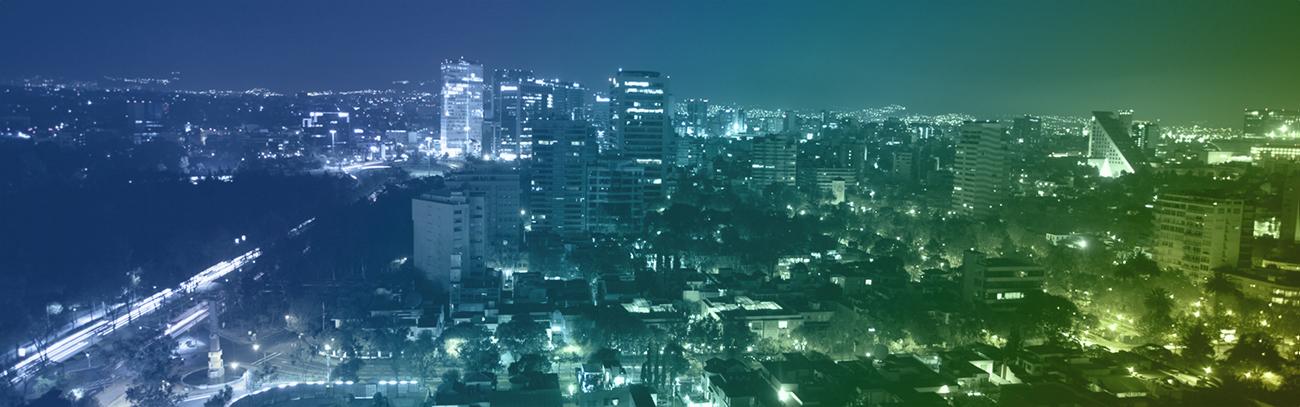 Latin America city background